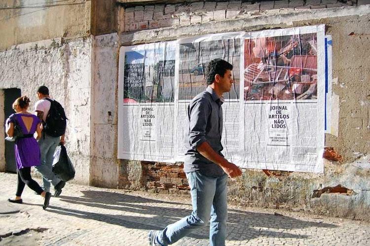 Réporter sem Beiras, wall journals series 1