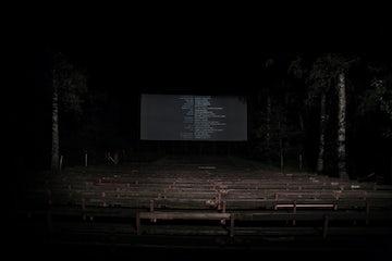Open Air Theatre by Night, Czech Republic