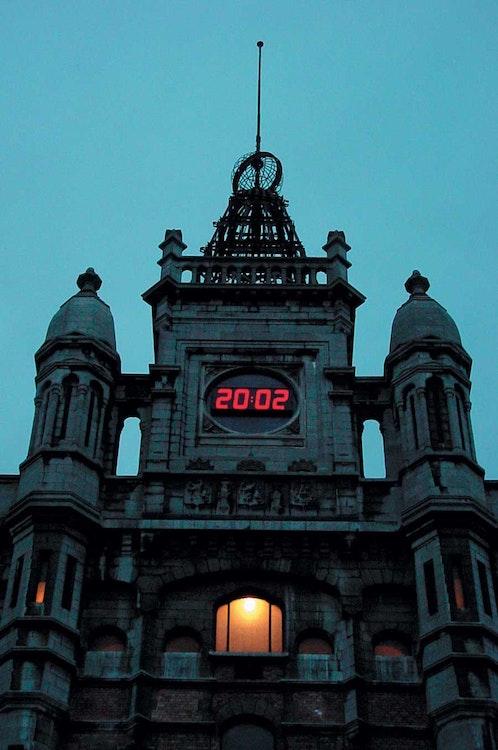 Une horloge pour Tour & Taxis