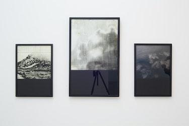 Tim Volckaert, Triptiek Interior Design of a mountain, of a cloud, water design, 2014 -15