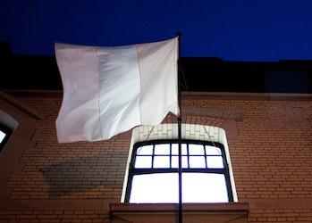 The White Belgian Flag