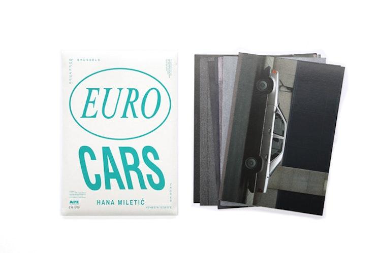 Hana Miletic - kunstenaarsboek EURO Cars