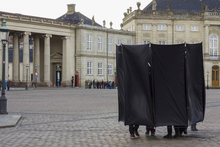 plan 2: octagonal prism – moving space (amalienborg)