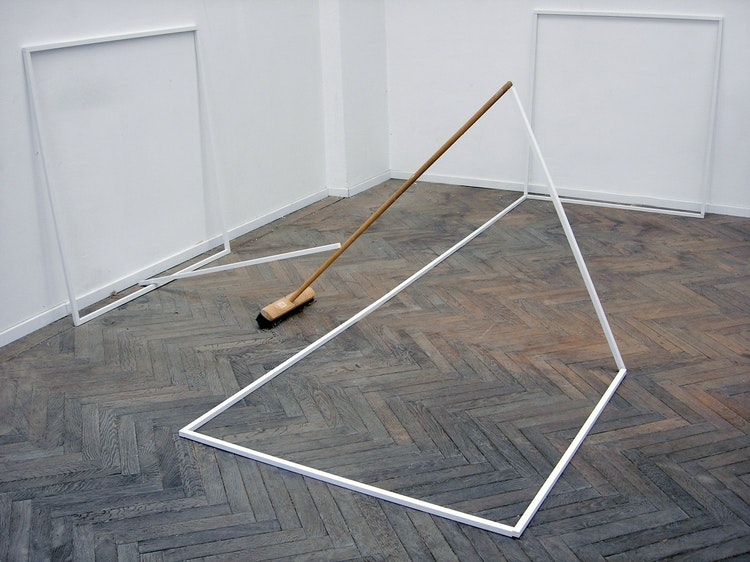 Semi broom