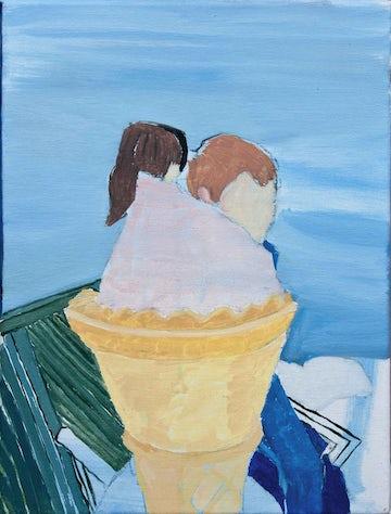 Kinderen en ijs