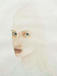 Jeune fille ayant embrassé un crapaud, 2012, aquarelle on paper, 46x35cm