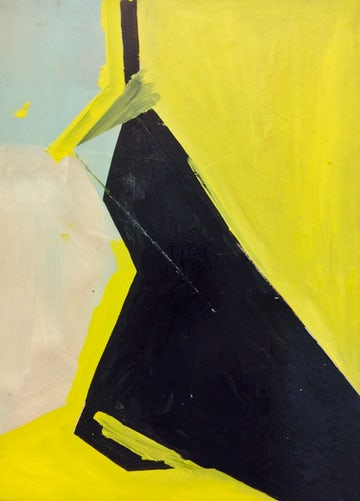 Zwart en geel