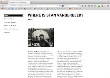 Where is Stan Van Der Beek?