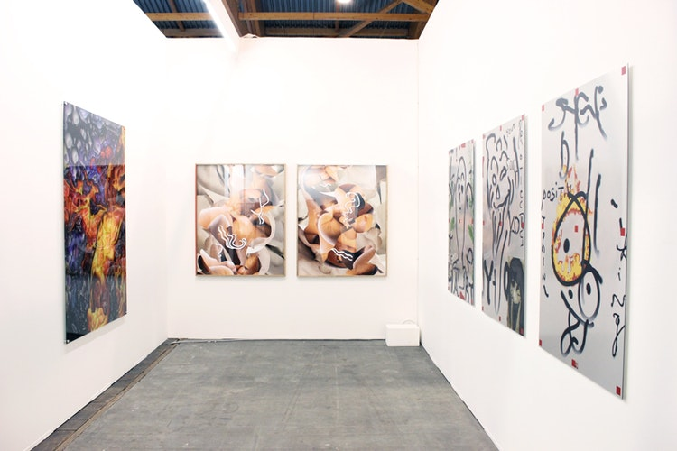 Installation view Elaine Levy Project Art Brussel 2014 - Yannick Val Gesto