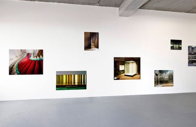 Karin Borghouts - Tentoonstellingszicht 'L'esprit de l'espace'