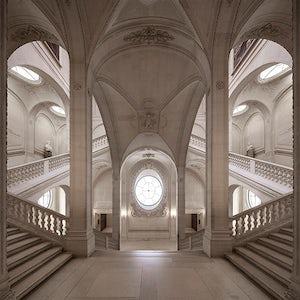 Karin Borghouts - L'esprit de l'escalier (Musée du Louvre), 2013