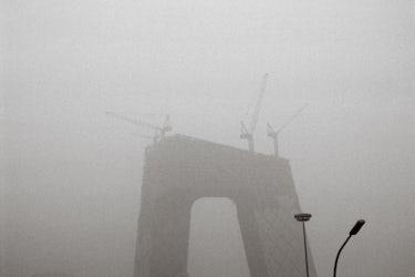 Lien Sergeant - CCTV tower Rem Koolhaas