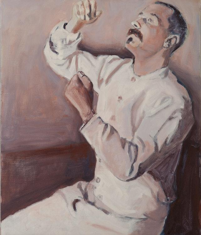 Johan Clarysse - Suspicious portrets (Werner), 2010