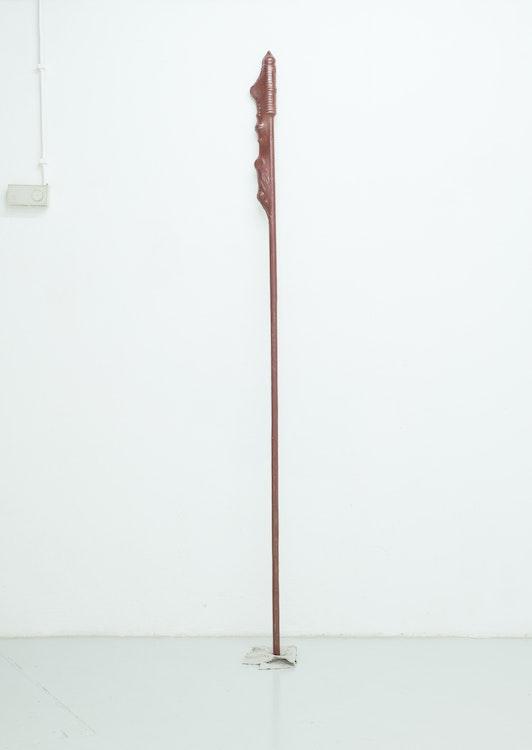 Maarten Van Roy - Untitled (Red), 2014