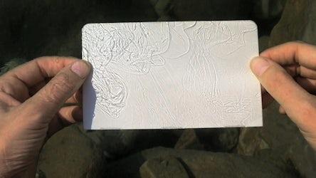 Edith Dekyndt - Dead Sea Drawings, 2010