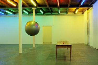 Edith Dekyndt - God visit Newton, 2011