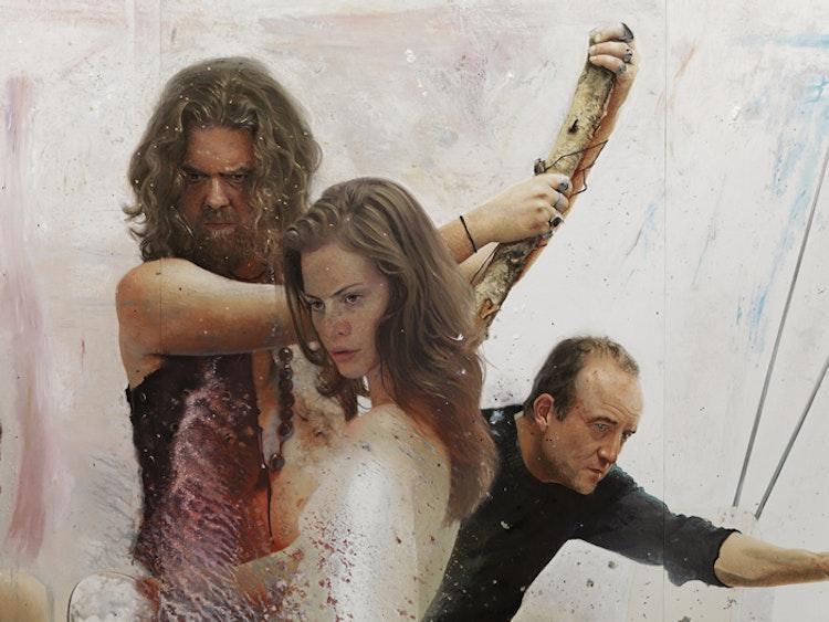 Narcisse Tordoir - The Pink Spy 4 (detail), 2013