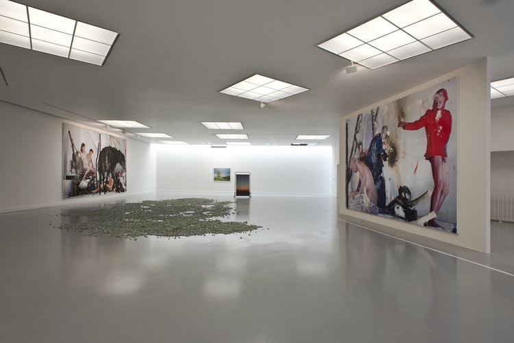 Narcisse Tordoir - The Pink Spy (exhibition view), 2014