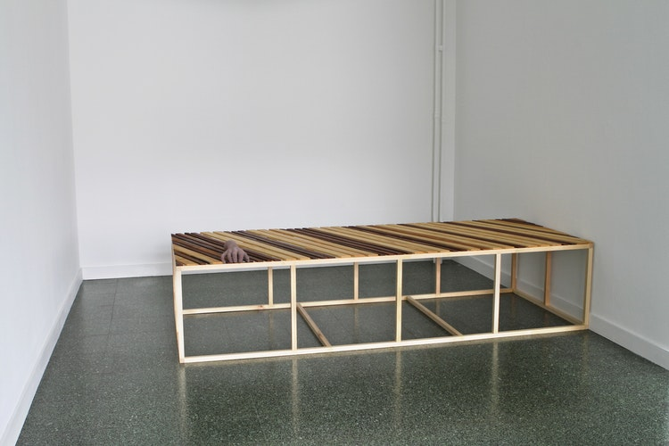 Delphine Deguislage - Bad bed board, 2012