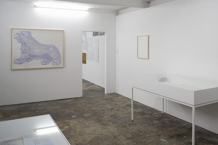 Writing Over (Atlas Archive), Kasper Andreasen, 2012