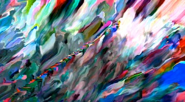 Colorful Shinkansen