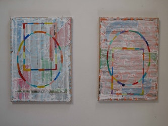 Painting The Daily Practice of F.T Marinetti WorkPlace in Antwerp