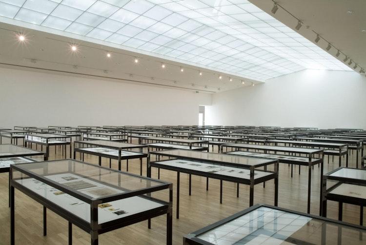Universe, 2002-2006 tentoonstellingszicht in S.M.A.K.