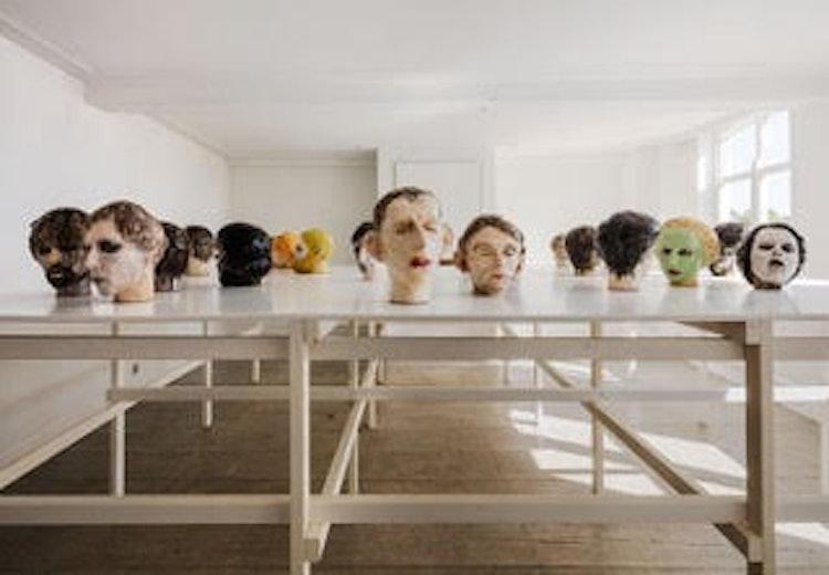 Installatie 'Commedia' Watou, 2016  Foto: Karin Borghouts