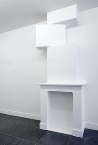 Intervention with fireplace