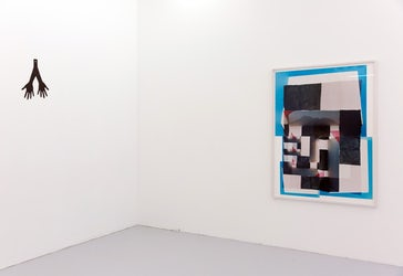 Installation view of Hmmmmm